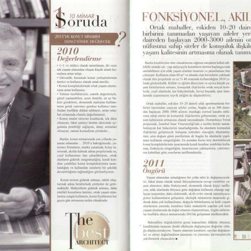 2010 Consept Projeler Dergisi