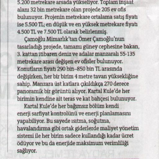 2011 Ekim Hürriyet Emlak Yaşam